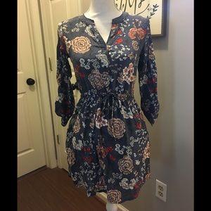 {Loft Outlet} floral dress